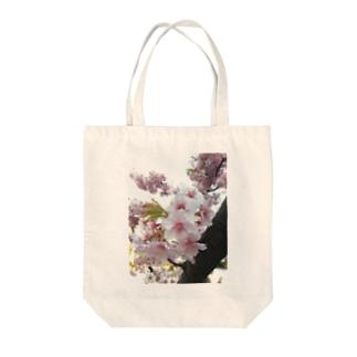 桜の桜 Tote bags
