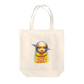 《トらやんの世界》(心に想うことはいつかほんまに起こるんや) Tote bags