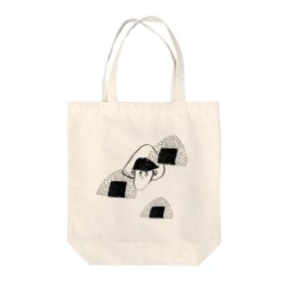 塩むすび Tote bags