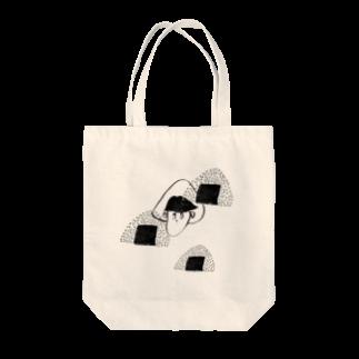 BURE-BUREの塩むすび Tote bags
