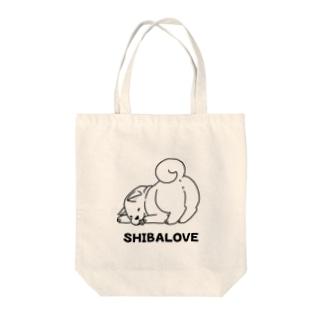 魅惑の柴犬 Tote bags