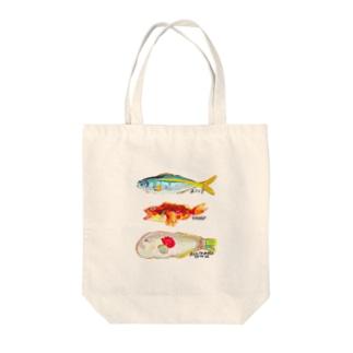 お魚天国 Tote bags
