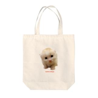 チビおかき Tote bags