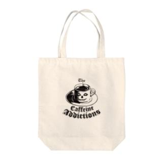 地獄の休憩 The CAFFEINE ADDICTIONS (Hell Breaks) Tote bags