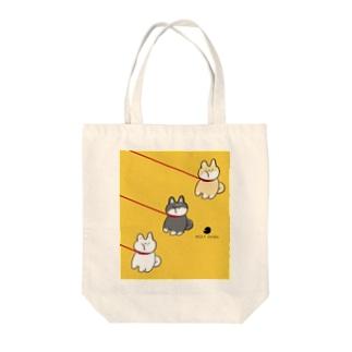 いやいやさん 柴犬 Tote bags