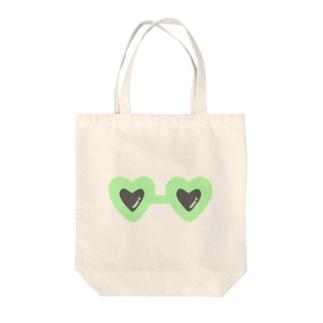 green×sunglasses Tote bags