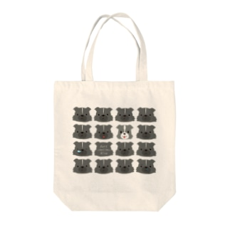 【nina&bart】バート時々ニナ Tote bags