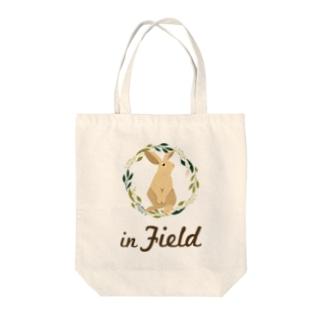 in Field ロゴ Tote Bag
