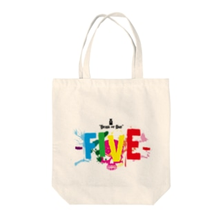 FIVEのサイコトート Tote bags