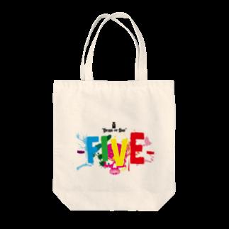シューティングバーFIVEのFIVEのサイコトート Tote bags