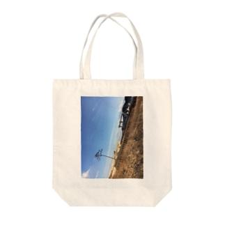 奇跡の一本松 Tote bags