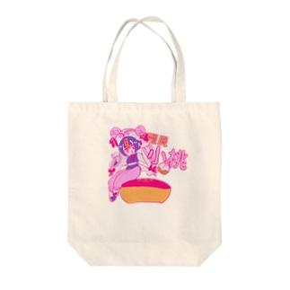 小桃2 Tote bags