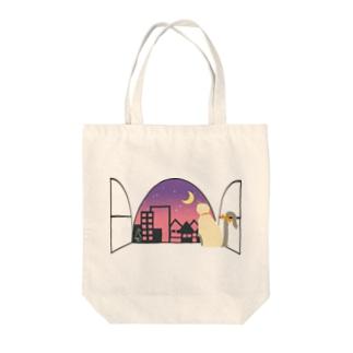 window side [Ragdoll] Tote bags