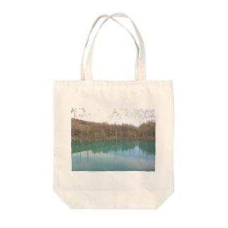 美瑛ブルー~北海道 Tote bags