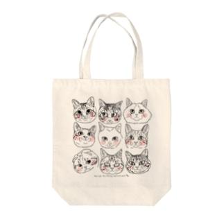 猫猫猫2 Tote bags