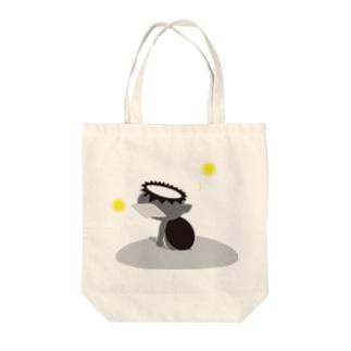 かっぱ(モノクロ) Tote bags