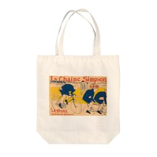 ロートレック シンプソンチェーン Tote bags