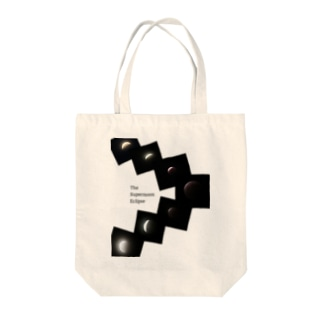 The Supermoon Eclipse 2021/05/26 Tote bags