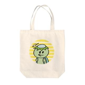 カッパちゃん Tote bags