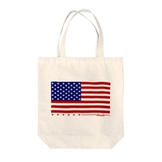 dacci 星条旗(カラー) Tote bags