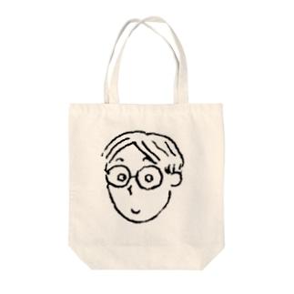 書生君 Tote bags