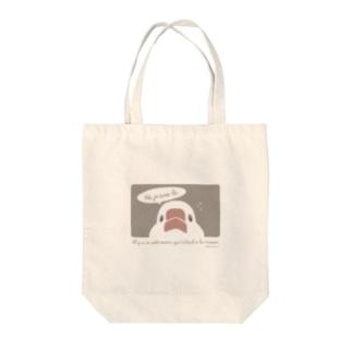 文鳥さんが家で待ってる Tote bags