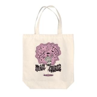 """MAGI COURIER"" pink #1 Tote Bag"