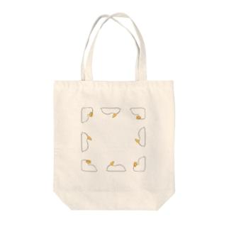 シロウサギウミウシ Tote bags
