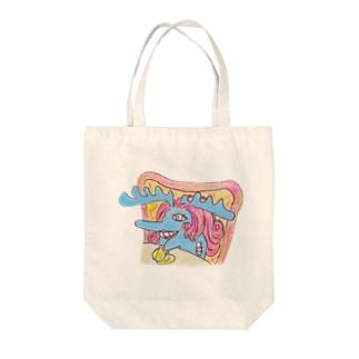 過敏婦人ムース Tote bags