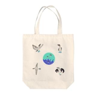 aoashikatsuodori★ Tote bags