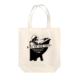 Ride on トートバッグ Tote Bag