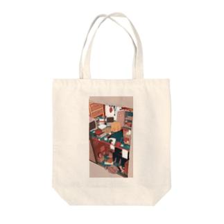 ざしきわらし Tote bags