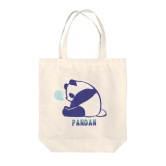 お眠なパンダン Tote bags