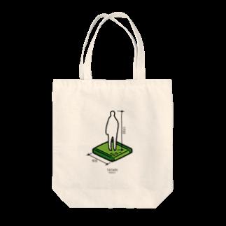 d_shopのMODULE-TATAMI- Tote bags