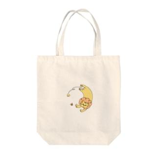 みっとぅんのちょうちょとライオン Tote bags
