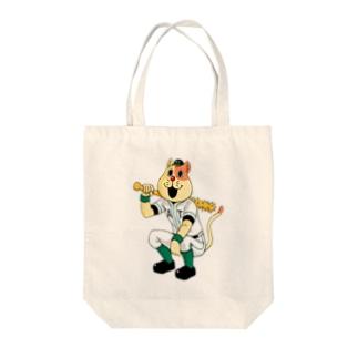 ネコやん Tote bags