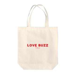 LOVEBUZZ logo RED Tote Bag