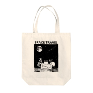 猫と宇宙 (誕生会ver.) Tote bags