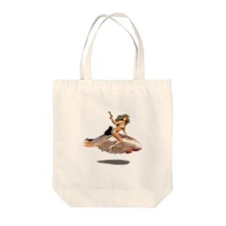 寿司girl 〜小肌ランデブー〜 ベタなし Tote bags
