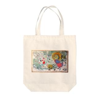音楽のチカラ トートバッグ Tote bags