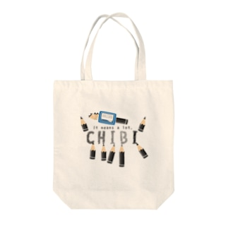 CT156 ちびた鉛筆*A Tote bags