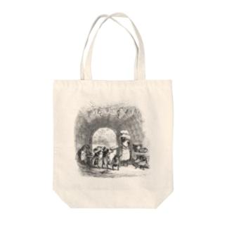 J・J・グランヴィル『動物たちの私生活・公生活情景』 Tote bags