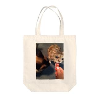 チュールはあたちのものよミンミ Tote bags