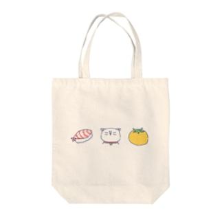 すしねこトマト Tote bags