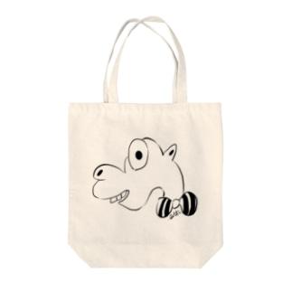 アッキーちゃん Tote bags