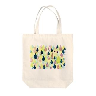 raindrop Tote bags