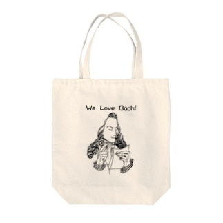 We Love Bach! Tote bags