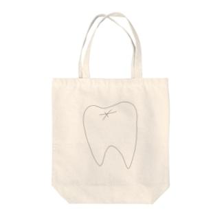 歯 Tote bags