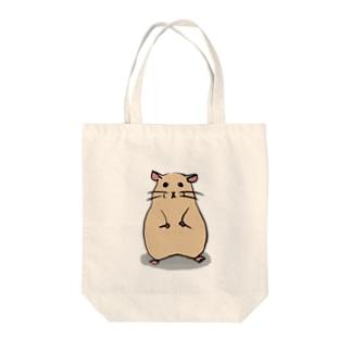 キンクマ Tote bags