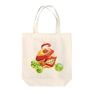 Apple モンスター/トート Tote bags